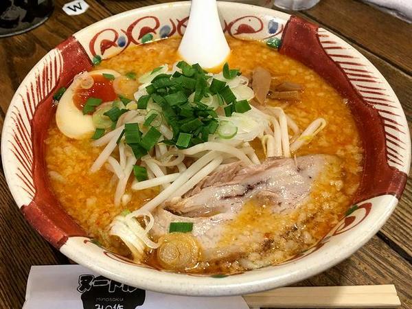 辛味噌麺(中辛) 756円