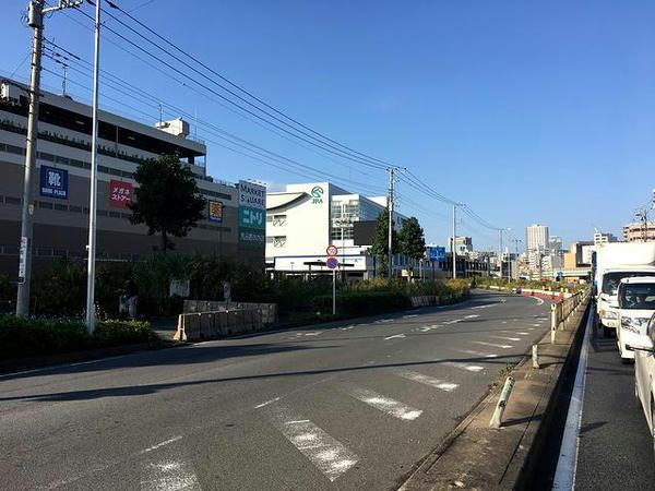 川崎競馬場遠景
