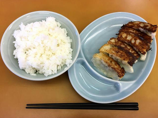 餃子とライス 420円