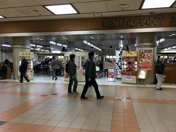 レストランプラザ(スタンド地下1階)