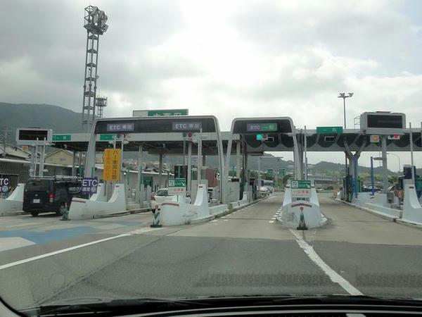 太宰府ICから九州道へ