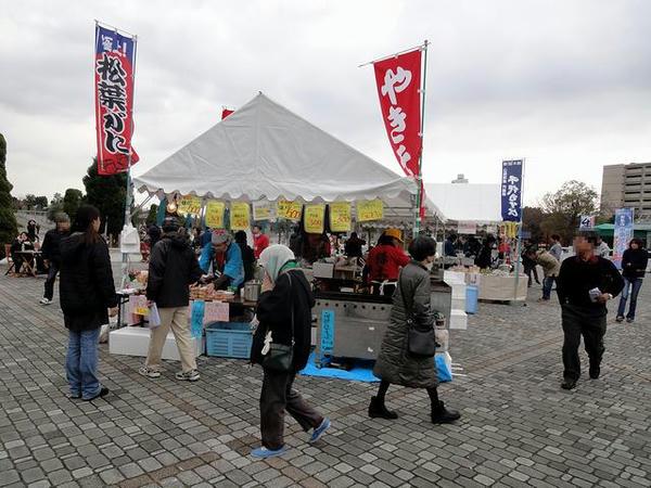 イベント広場で行われていた境港物産展