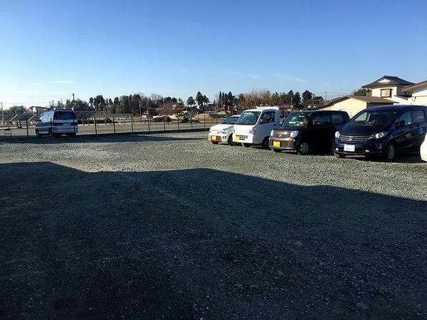 今回駐車した民間駐車場