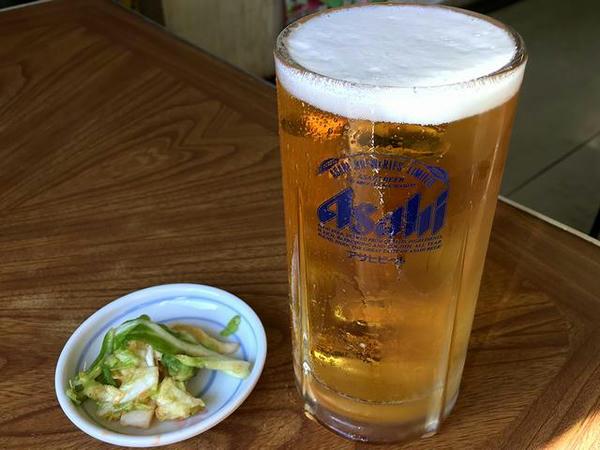 生ビール 520円