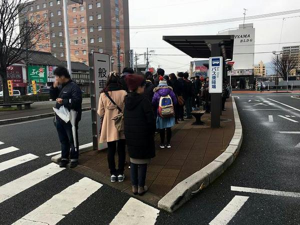 鳥栖駅前バス乗り場