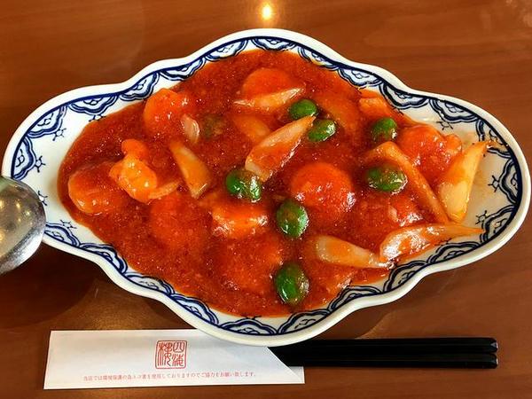 干烧虾仁(エビのチリソース) 1512円
