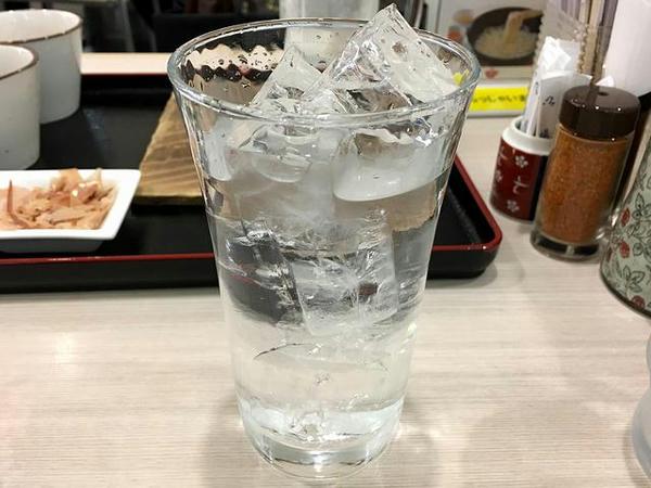 芋焼酎 五島灘(25度) 500円