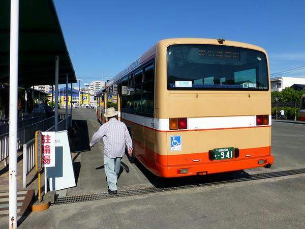 無料ファンバスで姫路駅まで
