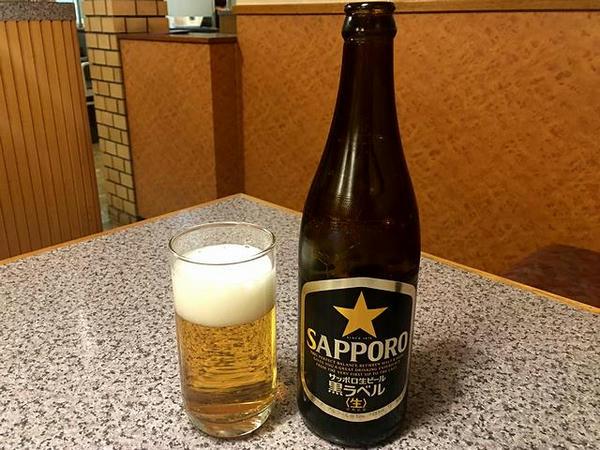 びんビール 519円