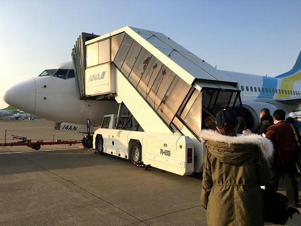 AIR DO61便に搭乗