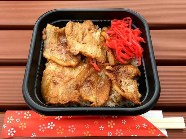 十勝帯広豚丼 600円 (タカサキヤ)