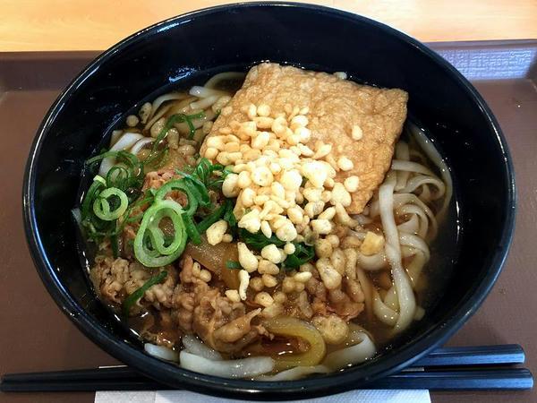 ロカボ牛麺(温) 490円