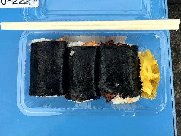 おむすび餃子弁当 500円