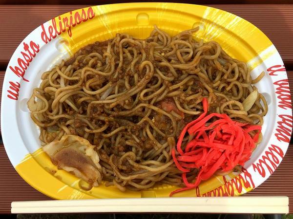 元祖カレー焼きそば 600円 (トミーフード)