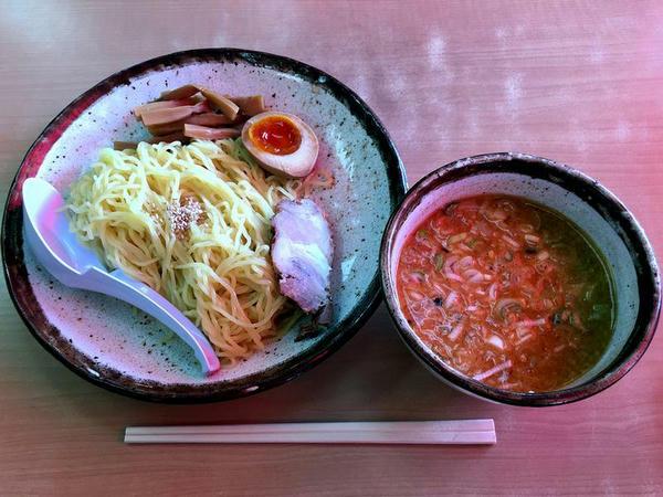 つけめん(味噌だれ・細麺) 700円