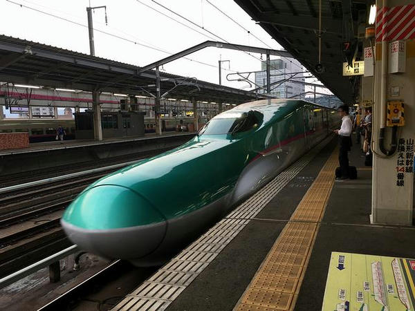 帰りは新幹線で