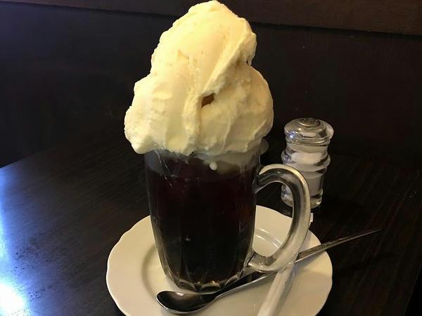 コーヒーフロート 500円