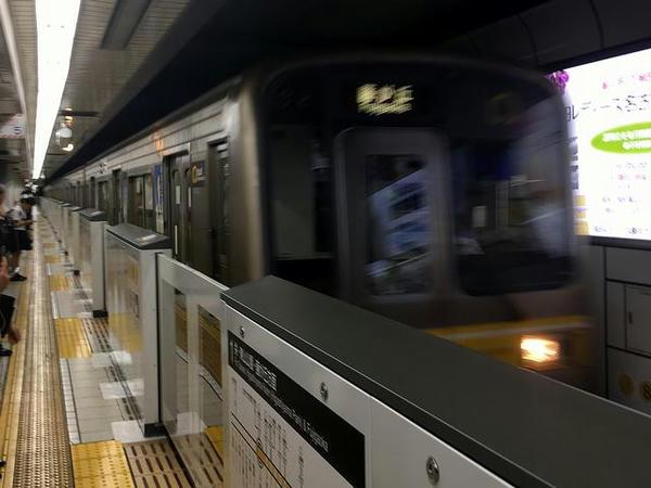 名駅から地下鉄東山線に乗車