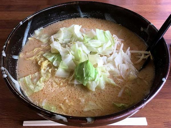 味噌ミルクラーメン(野菜少なめ) 900円