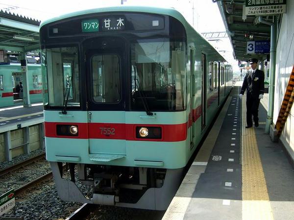 柳川駅からはワンマン運転の7588となる