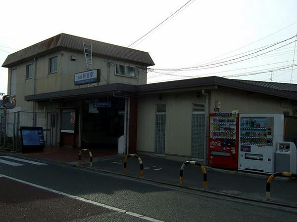 西鉄新宮駅の駅舎