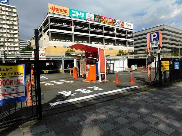 第3駐車場入口