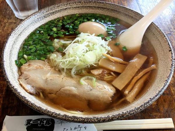 味玉醤油麺 780円