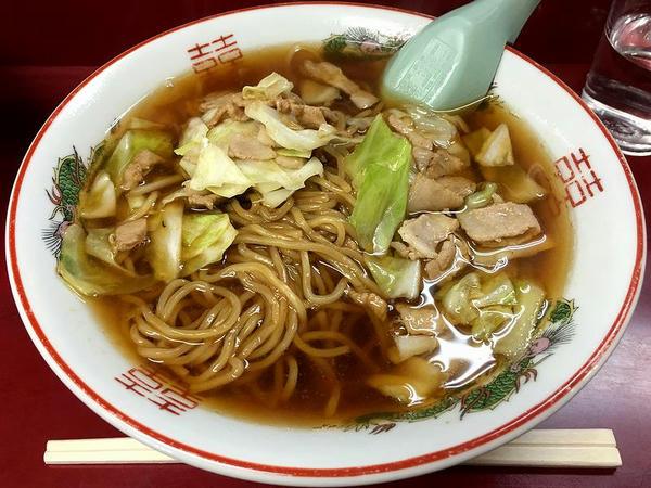 スープ入り焼きそば(並) 650円
