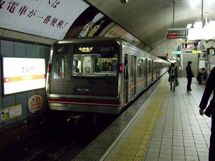 地下鉄御堂筋線の電車