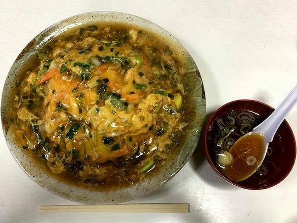 天津丼(スープ付き) 800円