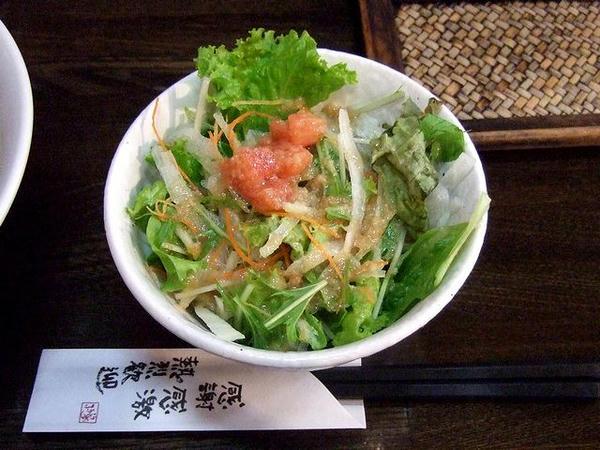 ふうふう亭のコク塩チャーシューメン(黒ネギ)