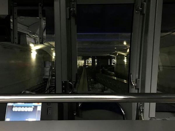 羽田空港第2ビル駅進入