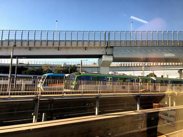 昭和島駅の車両基地