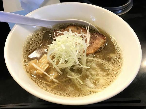 煮干中華そばNORMAL 750円