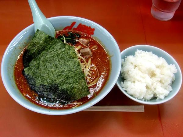 辛味噌ネギラーメン(激辛・脂普通・味普通・麺普通) 790円 + 半ライス 110円