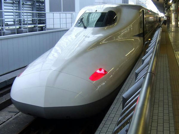 東京駅で発車を待つ11A のぞみ11号