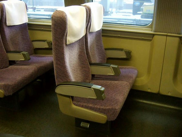 527-14のシート(2人掛け)