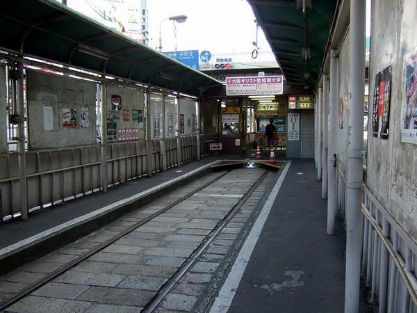 天王寺駅前駅の構内(2)