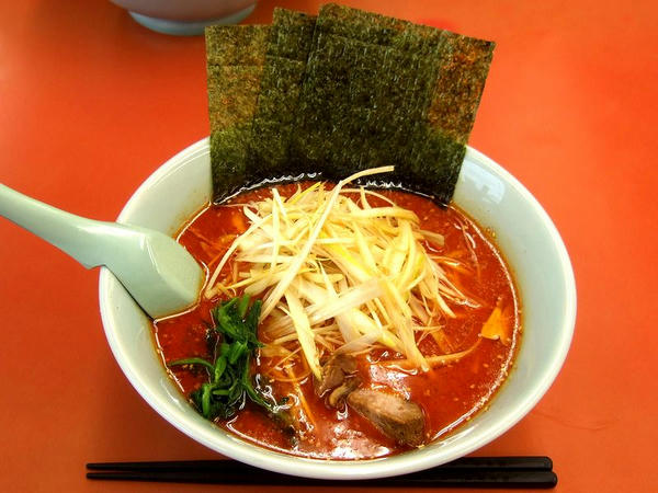 辛味噌ネギラーメン(激辛・脂普通・味薄目・麺普通) 790円