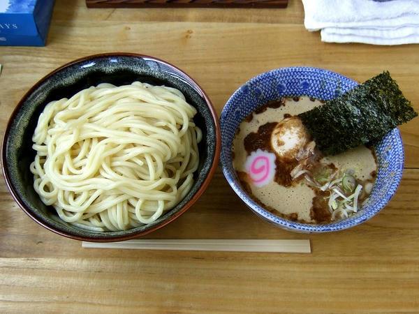 つけ蕎麦(中) 750円 + 味玉 100円