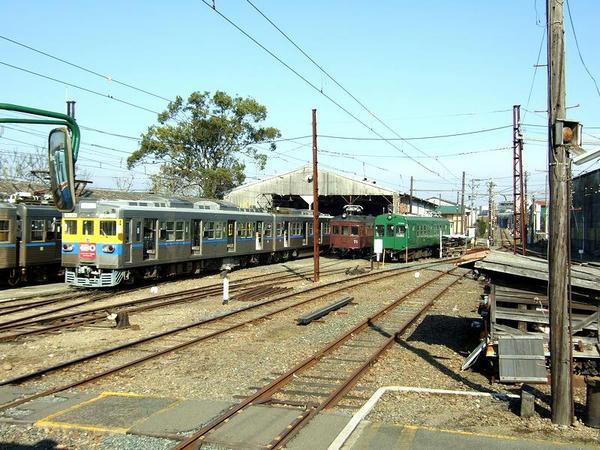 北熊本駅進入北熊本駅で休む車両達(1)