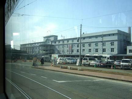 車窓風景2 JR熊本駅