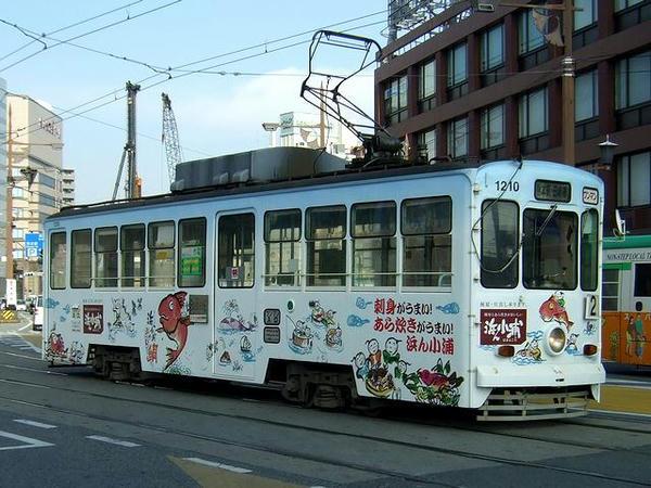 熊本駅前電停にて その4