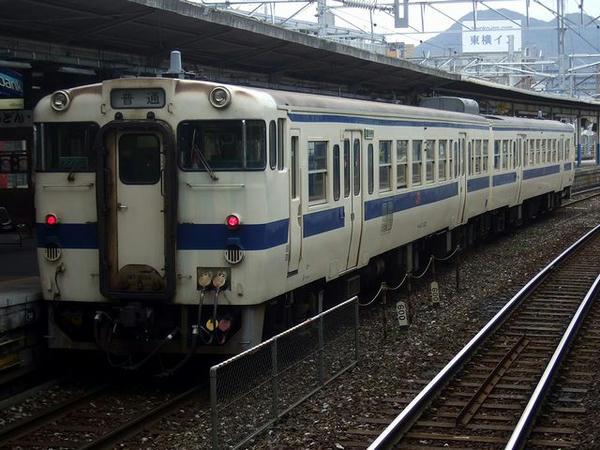 日田彦山線に行くキハ47