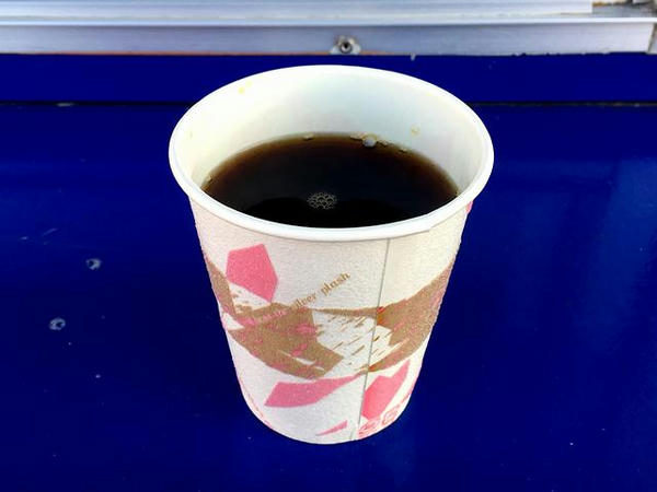 コーヒー 100円(通常は200円)