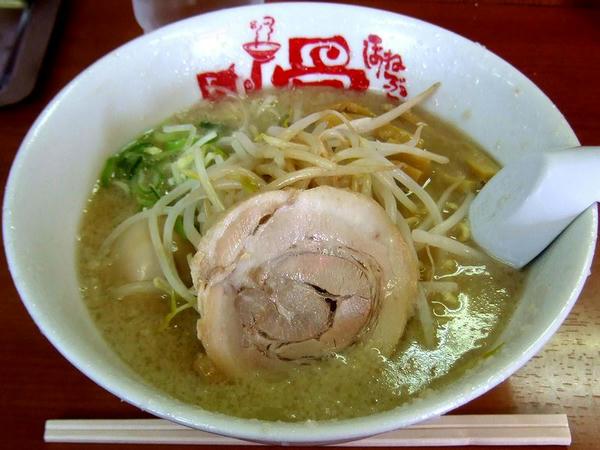 ラーメン 580円 + 煮玉子 100円
