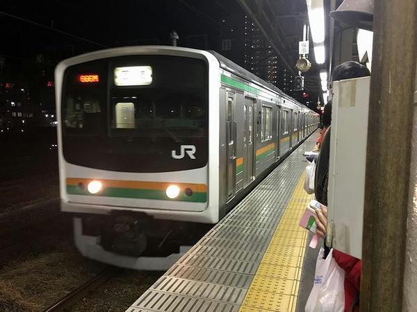 宇都宮駅で乗り換えた黒磯行き普通列車