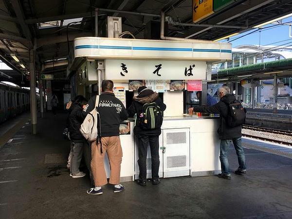 小山駅10号そば