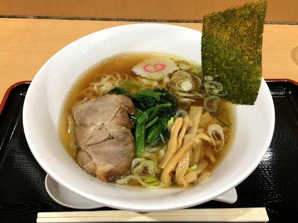 佐野らーめん 醤油 730円