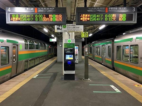 小金井駅で乗り換え